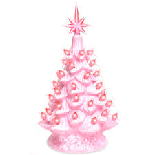 Best Choice Products 11in Pre Lit Hand Painted Ceramic Tabletop Christmas Tree W