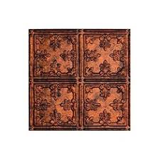 24x24 Pvc Ceiling Tiles by Astana Antique Gold Chocolate 24x24 Pvc Ceiling Tile You Can
