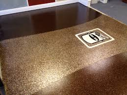 Quikrete Garage Floor Epoxy Clear Coat by Commercial Floor Retail Macro And Micro Size Mica Flake Center