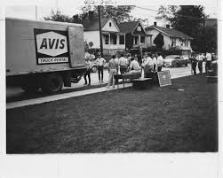 Members Of Unidentified Fraternity Load Their Belongings Onto An ... Budget Car Truck Rental Avis Rent A Jamaica Home Facebook Nj And Wendouree Gofields Victoria Trucks Rentals In Enterprise Moving Cargo Van Pickup Brighten Up The Day With Avisbudget Vintage Avis Rent Car Store Dealership Advertising Sign Auto Truck Rental A Group The