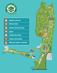 Zoológico Mapa