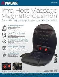Massage Pads For Chairs by Wagan Infra Heat 12v Massage Cushion Walmart Com