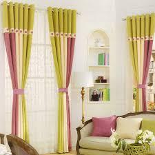 beste moderne leinen beige grün lila schlafzimmer gardinen