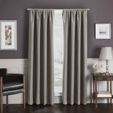 Bed Bath And Beyond Curtain Rod Finials by Sebastian Rod Pocket Insulated Total Blackout Window Curtain