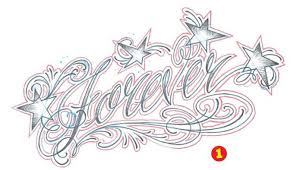 Alternatively The Shading Can Be Added To Bottom And Top Of Letters Leaving Middle Section White So It Is Highlighted 2