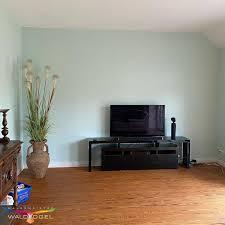 landhaus wohnzimmer tv wand malerbetrieb waldvogel