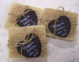 Chalkboard Style Tags 40 Medium Favors Soaps Lavender Oatmeal Organic Bridal Shower