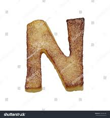 Royalty Free Stock Illustration Of French Fries Font Letter N Potato