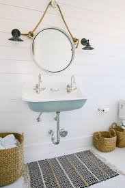 Surprising Nautical Ornaments For Bathroom Grey Floor Furniture Des ... Modern Guest Bathroom Coastal Vessel Sink Seaside Arstic 35 Cute And Sleek Ideas Decor With Excellent Surprising Nautical Ornaments For Grey Floor Fniture Des 25 Inspirational Theme Design Beachy Decorating Creative Decoration Beach House Decor Bm Fniture Coral Teal Awesome Best On Beach Themed Rooms Wall Small Mirror Vanity 2perfection Basement Reveal