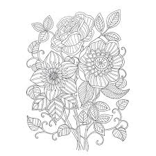 Lost Garden Art Coloring Notepad Colouring Book For Children