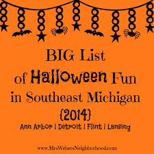 Halloween City Saginaw Mi by Big List Of Halloween Fun In Southeast Michigan 2014 Mrs