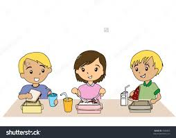 Preschool Lunch Time Clip Art