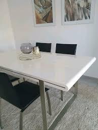 esstisch 4 stühle esszimmer weiß hochglanz