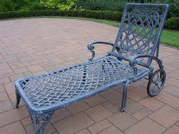 Oakland Living | Mississippi Cast Aluminum Wheeled Patio ... Fniture Incredible Wrought Iron Chaise Lounge With Simple The Herve Collection All Welded Cast Alinum Double Landgrave Classics Woodard Outdoor Patio Porch Settee Exterior Cozy Wooden And Metal Material For Lowes Provance Summer China Nassau 3pc Set With End Nice Home Briarwood 400070 Cevedra Sheldon Walnut Cane Rolling Chair C 1876