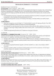 Related Free Resume Examples Management Professional