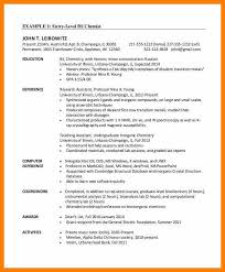Chemical Engineer Resume Examples