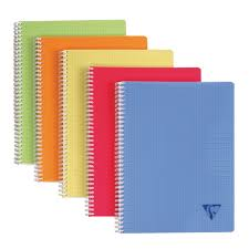 Cahier Spirale Clairefontaine Linicolor A4 21 X 297 Cm Petits
