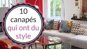 canapé déco idées déco 10 canapés pour créer l ambiance de votre salon