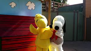Knotts Berry Farm Halloween Camp Spooky by Meeting Snoopy U0026 Woodstock Knott U0027s Berry Farm Youtube