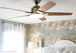 Shabby Chic White Ceiling Fans by Shabby Chic Master Bedroom Makeover