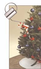 Xmas Tree Waterer by Watering Cane