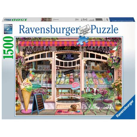 Ravensburger Ice Cream Shop Jigsaw Puzzle - 1500 Piece