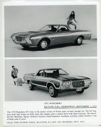 1972 FORD RANCHERO GT & Squire Truck ORIGINAL Factory Photograph ... A 1958 Ford Ranchero Pickup Truck Based On An Automobile Chassis The 1957 Started Trend 1964 For Sale Near Newport Beach California 92660 Cdon Skelly Classic Trucks 195758 Garage Snooping Pushing Dragsters Back In 1959 Cruisin News 1967 2151406 Hemmings Motor V8 Cartruck Barn Find 1965 Classy Vintage 1963 Woodland Hills 91364 Edsel Custom Truck Pinterest Trucks And Vehicle