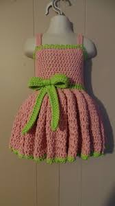 crochet how to crochet 18 24 months girls special occasion dress