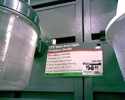 home depot compact fluorescent mercury vapor replacements
