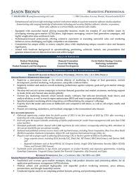 Product Marketing Manager Resume Example Medical Device Sales Representative