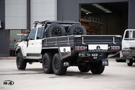 100 6x6 Truck Conversion JMACX S From 4x4 To Boss Aluminium