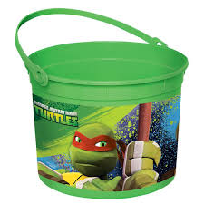 Mcdonalds Halloween Buckets by Teenage Mutant Ninja Turtles Plastic Bucket Birthdayexpress Com