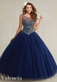 quinceanera dress 89081 beaded tulle ball gown wedding dress