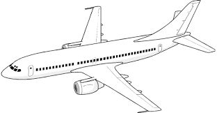 Airplane Coloring Pages Free Printable Within Airplanes
