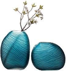 de vasen wohnzimmer dekoration glasvase buntglas