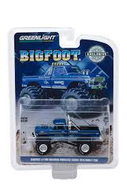 Amazon.com: 1974 Ford F-250 Monster Truck Bigfoot #1 Blue The ...