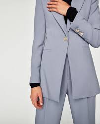 CREPE FROCK COAT And PANTS From Zara