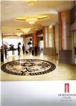 Italy Thin Laminated Water Jet Medallions Marble Floor Flowers Designs Italian Price Lobby Flooring Design Beige