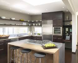 terrific lighting idea for kitchen top contemporary kitchen