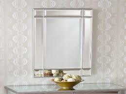 Bathroom Pivot Mirror Rectangular by Bathroom Light Up Your Home With Frameless Beveled Mirror