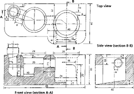 Figure 1 Schematic Drawings Of Stove Cm