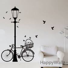 l bike wall sticker bike l wall decal diy decorating