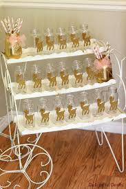 Pink White And Gold Birthday Decorations by Pink And Gold Party Supplies Gold White U0026 Pink Deer Birthday