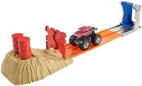 Hot Wheels® Monster Jam® Brick Wall Breakdown™ Track Set - Shop Hot ... Amazoncom Hot Wheels Monster Jam Launch And Smash Playset Toys Philippines Price List Scooter Cars Lego City Truck 60180 Big W Brick Wall Breakdown Track Set Shop Bigfoot Ragin Arena 2 Sets And The Log Traxxas Rc Trucks Boats Hobbytown Scalextric Mayhem Slot Car Racing Day 1 Youtube Mater Deluxe Figure Shopdisney Party Games 225pcs Twisted Tracks Fxible Assembly Neon Glow In Darkness With