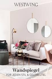 wandspiegel in stilvollen designs wohnzimmer spiegel