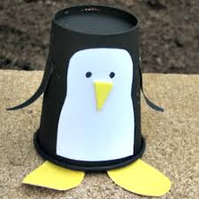 This Little Paper Cup Penguin Is A Fun Craft To Make For Any Madagascar Fan