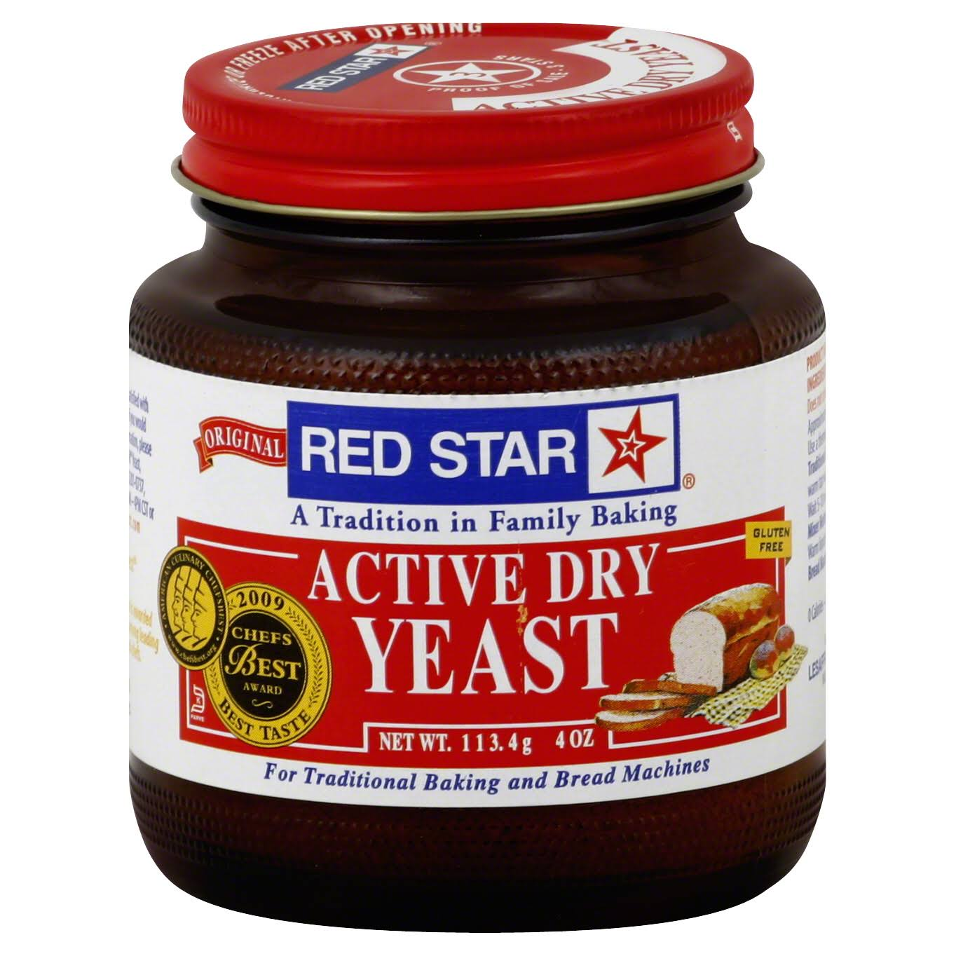 Red Star Original Active Dry Yeast - 4oz