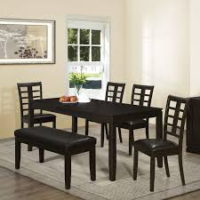 Cheap Dining Room Tables Long Country Table Sets With Chair Black Painted Wood Contemporary Set Ideas