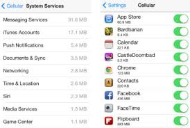 How to Monitor Your iPhone s Data Usage in iOS 7