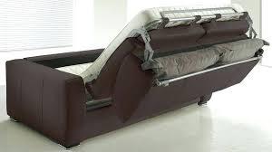 canapé lit en cuir canapé convertible rapido pas cher unique canape lit rapido